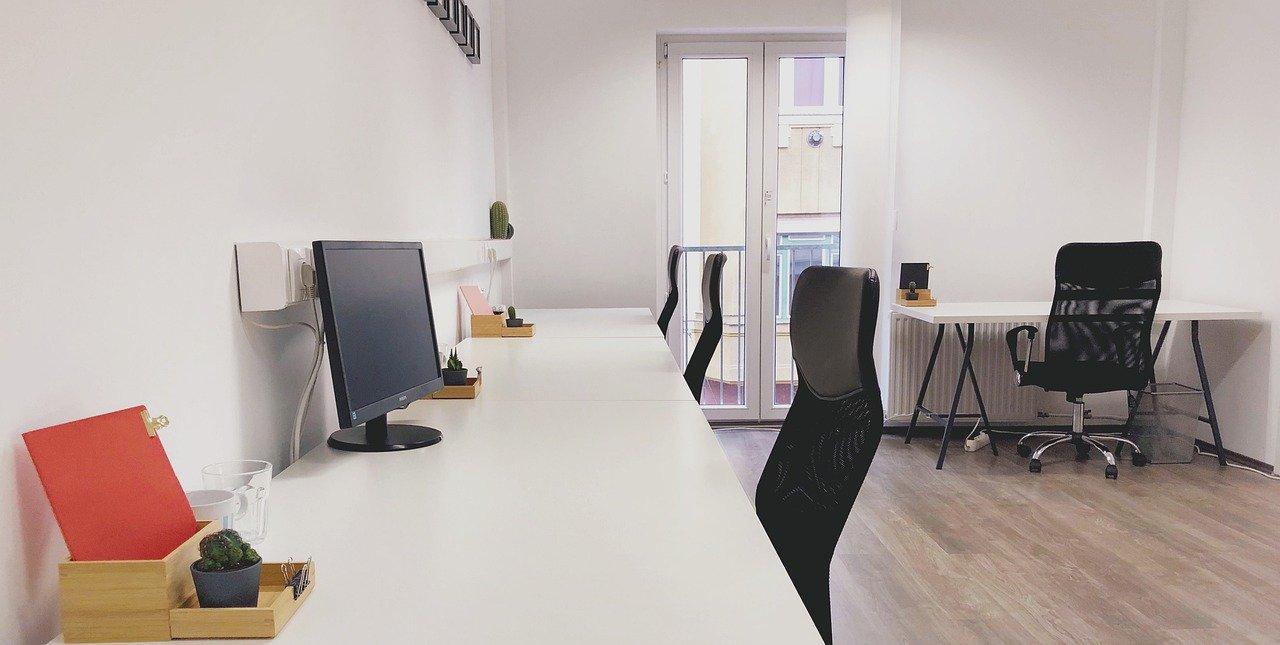 desescalada en oficinas en fase de readaptación
