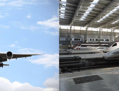 Medidas de protección sanitaria en aviones y trenes